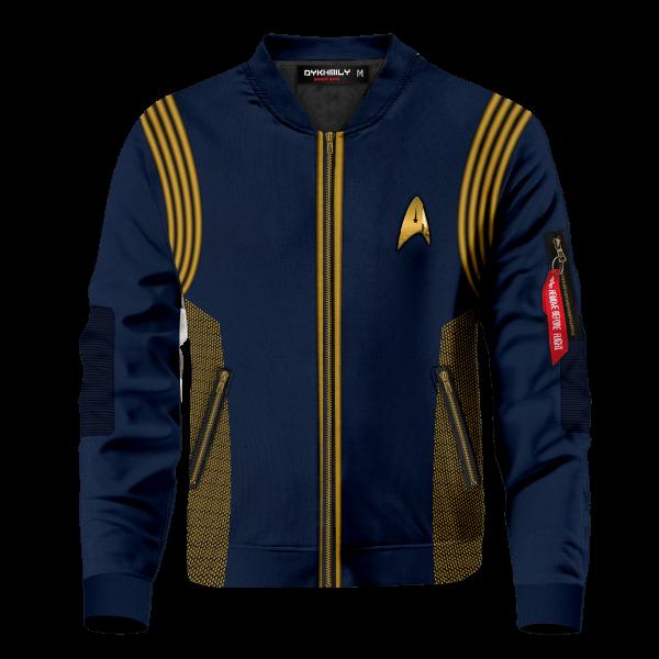 star trek discovery bomber jacket 380662 - Anime Jacket