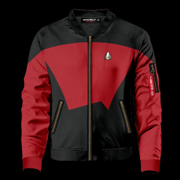 starfleet command division bomber jacket 105541 - Anime Jacket