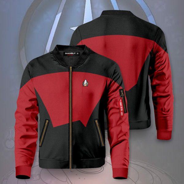 starfleet command division bomber jacket 301380 - Anime Jacket