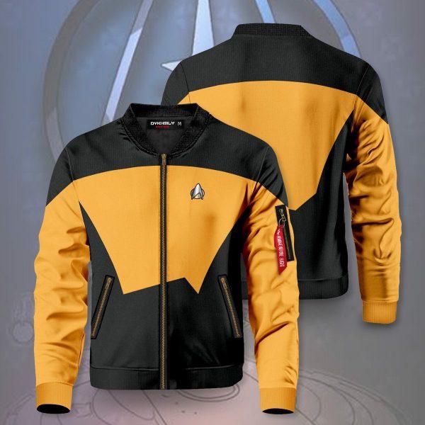 starfleet operations division bomber jacket 636325 - Anime Jacket