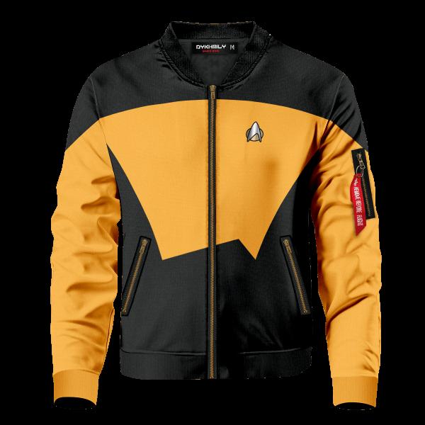 starfleet operations division bomber jacket 999795 - Anime Jacket