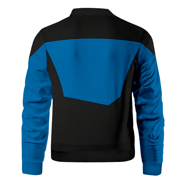 starfleet science division bomber jacket 208621 - Anime Jacket