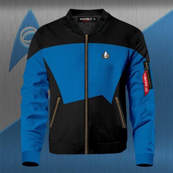 starfleet science division bomber jacket 298142 - Anime Jacket