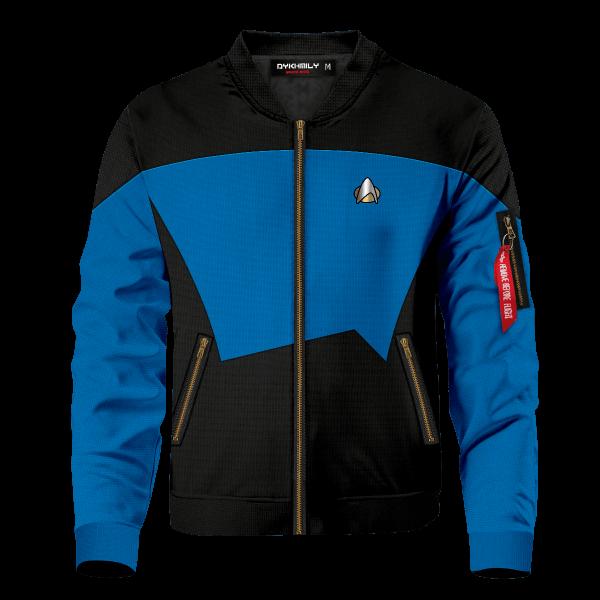 starfleet science division bomber jacket 750432 - Anime Jacket