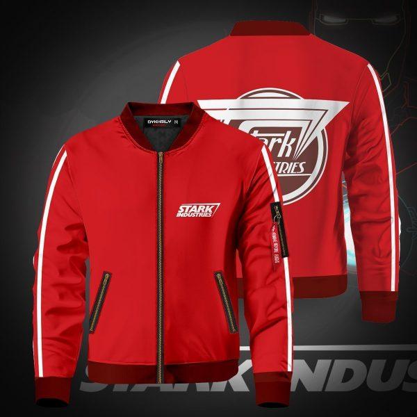 stark industries bomber jacket 211423 - Anime Jacket