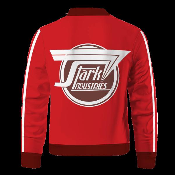stark industries bomber jacket 375118 - Anime Jacket