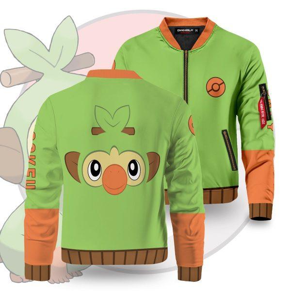 starter grookey bomber jacket 310066 - Anime Jacket