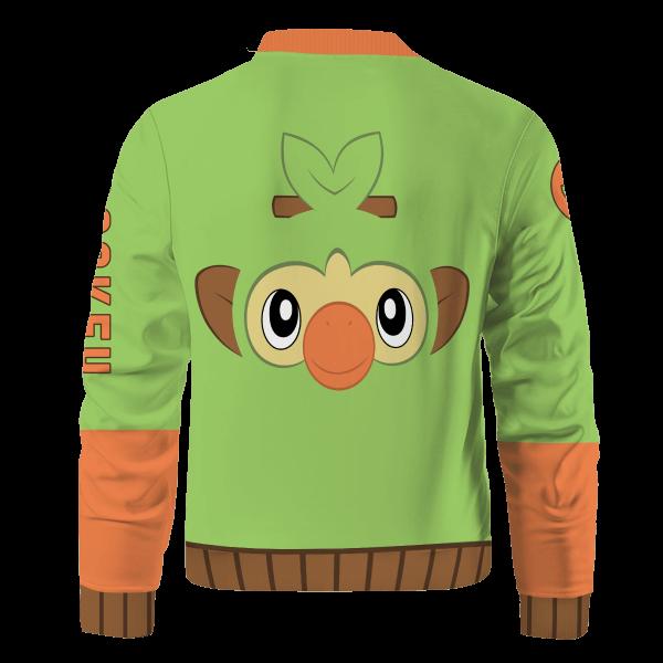 starter grookey bomber jacket 491585 - Anime Jacket