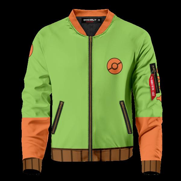 starter grookey bomber jacket 881609 - Anime Jacket