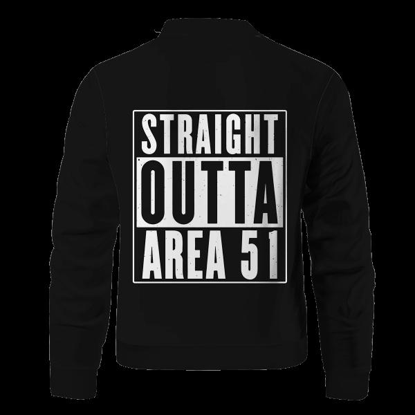 straight outta area 51 bomber jacket 236272 - Anime Jacket