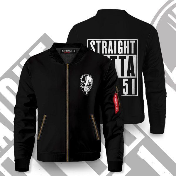 straight outta area 51 bomber jacket 654882 - Anime Jacket