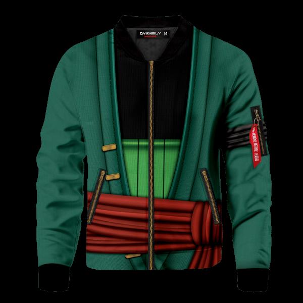 strongest swordsman zoro bomber jacket 511091 - Anime Jacket