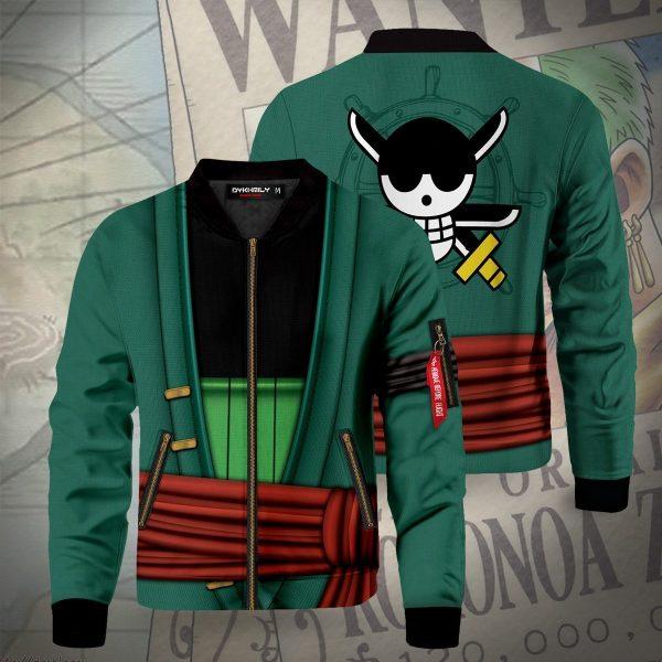 strongest swordsman zoro bomber jacket 759112 - Anime Jacket