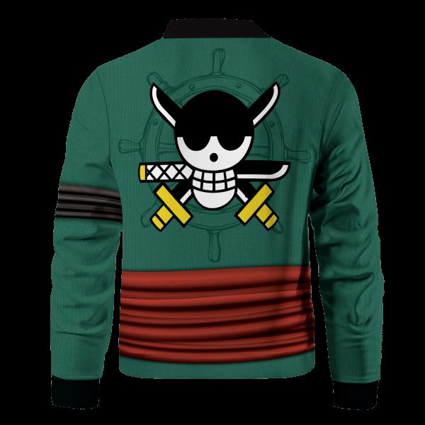 strongest swordsman zoro bomber jacket 958310 - Anime Jacket