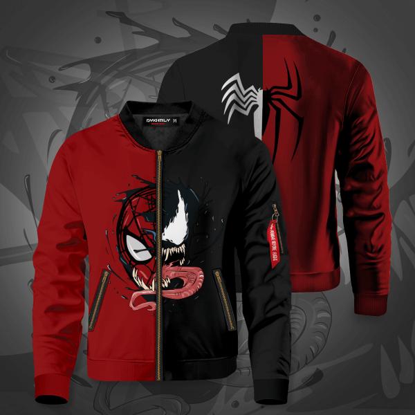 symbiote connection bomber jacket 469664 - Anime Jacket