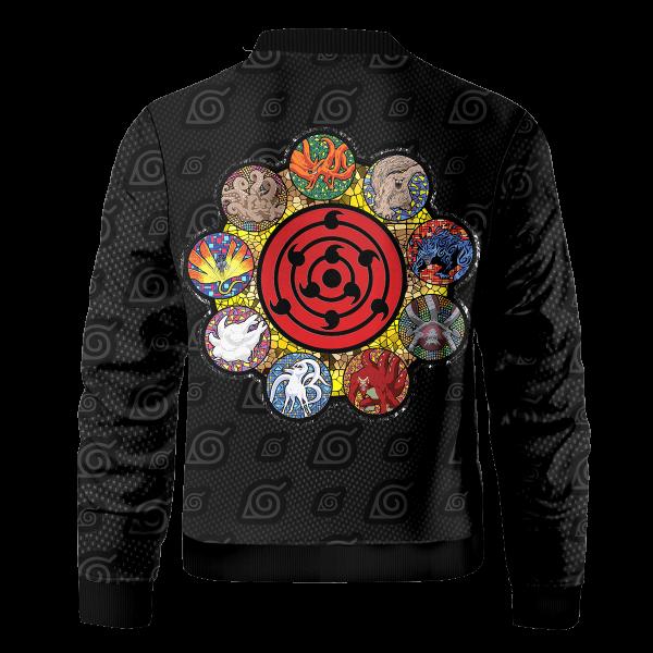 tailed beast bomber jacket 332187 - Anime Jacket