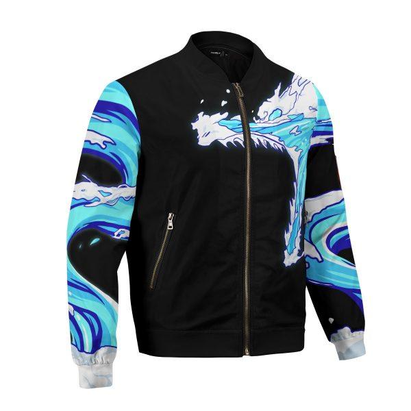 tanjiro water style bomber jacket 366859 - Anime Jacket