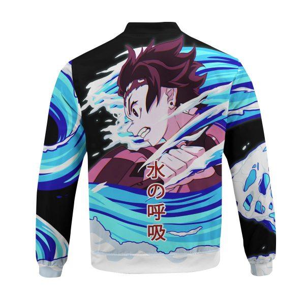 tanjiro water style bomber jacket 408373 - Anime Jacket