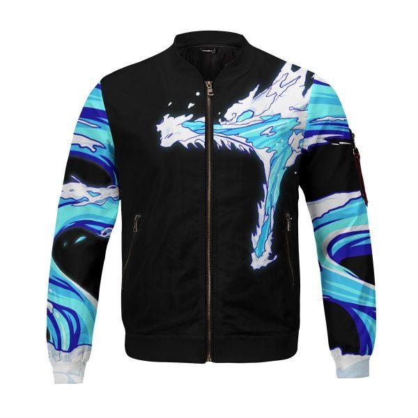 tanjiro water style bomber jacket 466018 - Anime Jacket