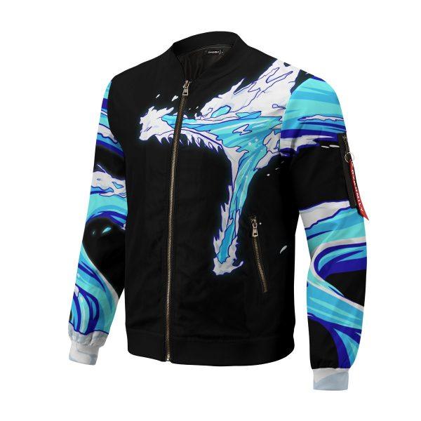 tanjiro water style bomber jacket 496794 - Anime Jacket