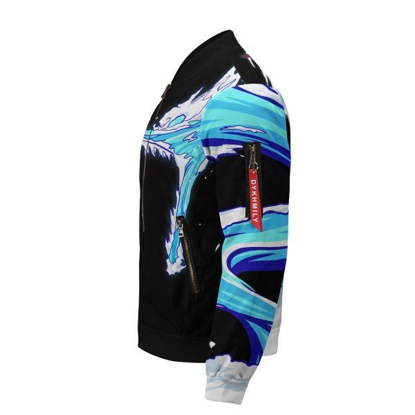 tanjiro water style bomber jacket 665457 - Anime Jacket