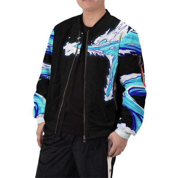tanjiro water style bomber jacket 691974 - Anime Jacket