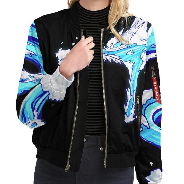 tanjiro water style bomber jacket 935672 - Anime Jacket