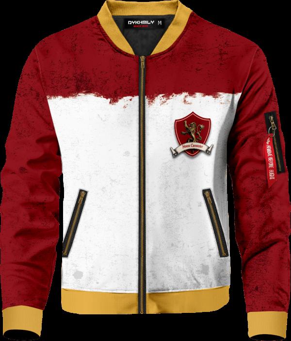 team lannister bomber jacket 439211 - Anime Jacket