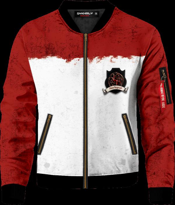 team targaryen bomber jacket 764026 - Anime Jacket