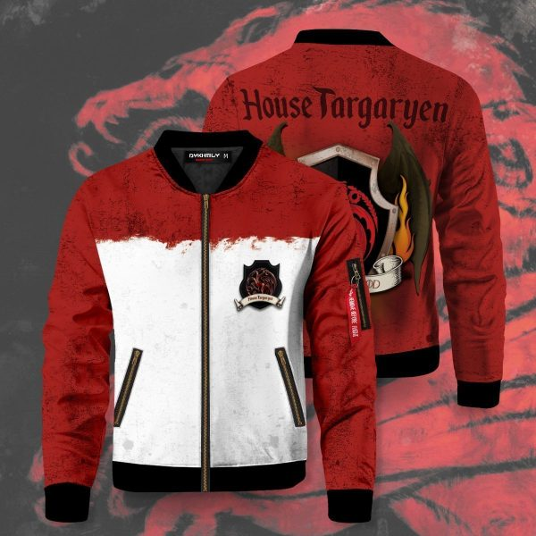 team targaryen bomber jacket 967738 - Anime Jacket