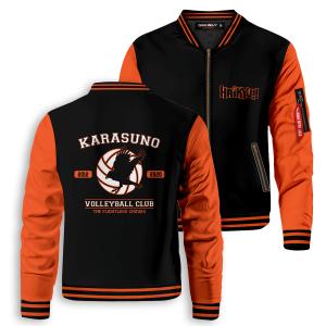 the flightless crows bomber jacket 270116 - Anime Jacket