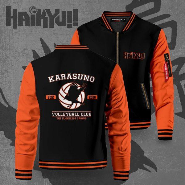 the flightless crows bomber jacket 773944 - Anime Jacket