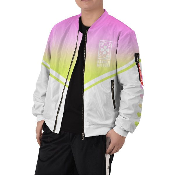 the love hashira bomber jacket 316202 - Anime Jacket