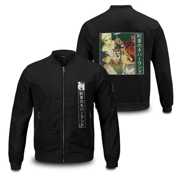 the promised neverland bomber jacket 980806 - Anime Jacket