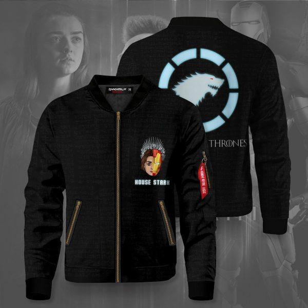 the starks bomber jacket 914111 - Anime Jacket