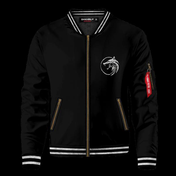 the white wolf bomber jacket 273376 - Anime Jacket