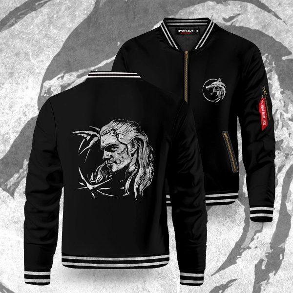 the white wolf bomber jacket 331929 - Anime Jacket