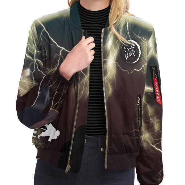 thunderclap flash style bomber jacket 347733 - Anime Jacket