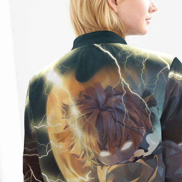 thunderclap flash style bomber jacket 423327 - Anime Jacket