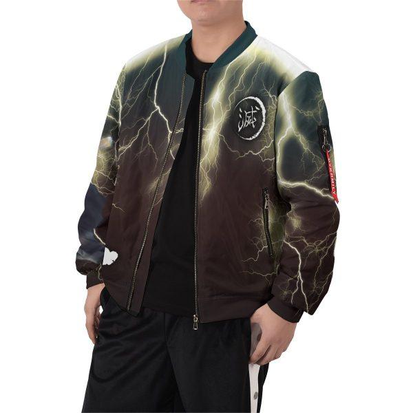 thunderclap flash style bomber jacket 489336 - Anime Jacket