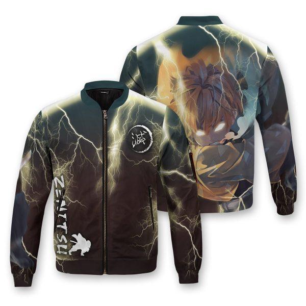 thunderclap flash style bomber jacket 800607 - Anime Jacket