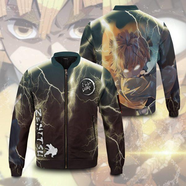 thunderclap flash style bomber jacket 956990 - Anime Jacket