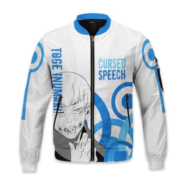 toge cursed speech bomber jacket 258126 - Anime Jacket