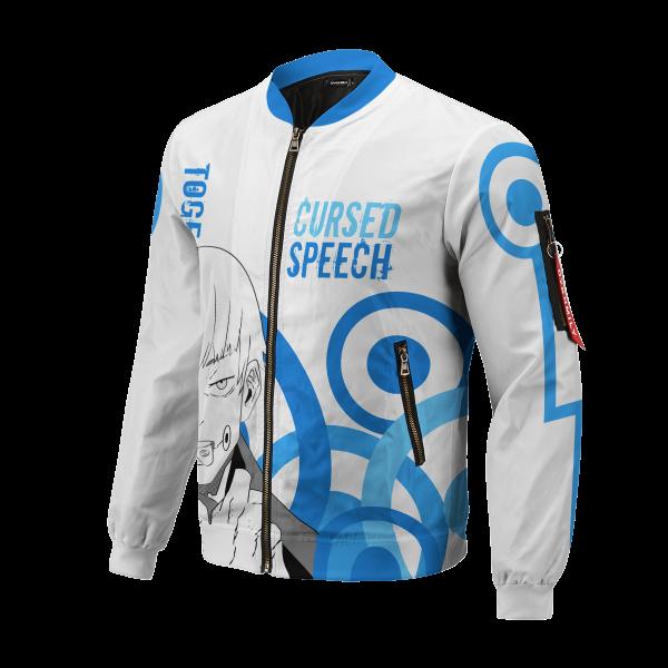 toge cursed speech bomber jacket 313645 - Anime Jacket