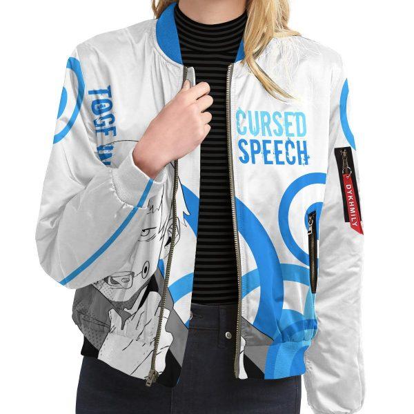 toge cursed speech bomber jacket 605726 - Anime Jacket