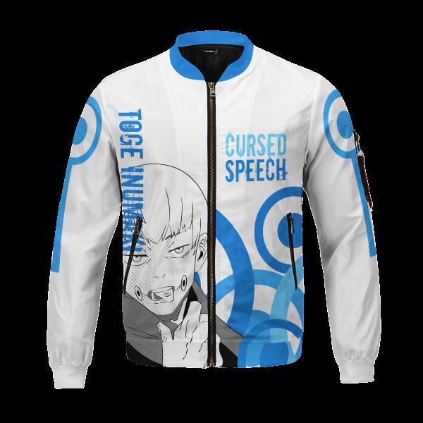 toge cursed speech bomber jacket 815160 - Anime Jacket