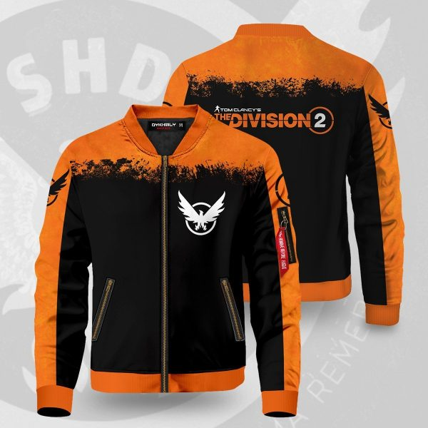 tom clancys the division 2 bomber jacket 489460 - Anime Jacket