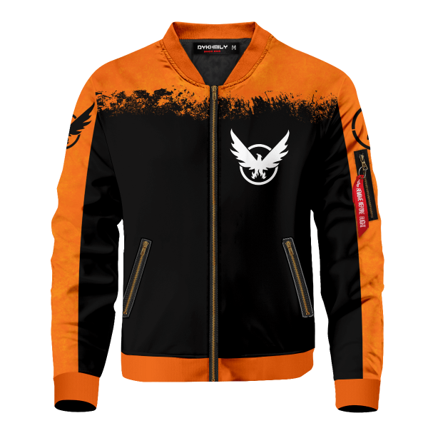 tom clancys the division 2 bomber jacket 999030 - Anime Jacket