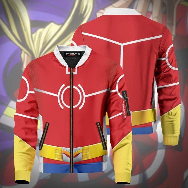 toshinori yagi silver age bomber jacket 344465 - Anime Jacket