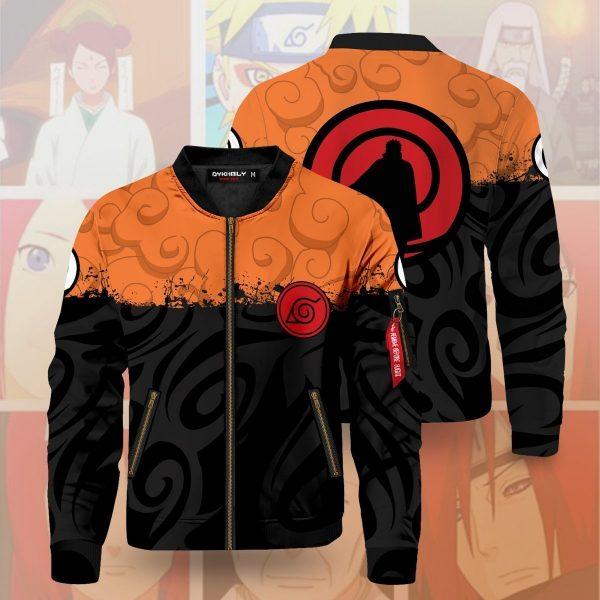 uzumaki clan bomber jacket 593393 - Anime Jacket